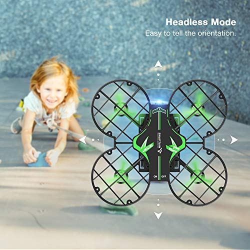 From USA SNAPTAIN H823H Plus Mini Drone for Kids, RC Pocket Quadcopter with Al