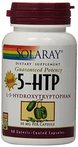 (FROM USA) Solaray L-5 HTP Capsules, 50 mg | 60 Count