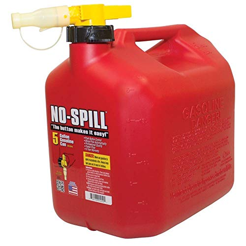 From USA No-Spill 1450 5-Gallon Poly Gas Can (CARB Compliant)