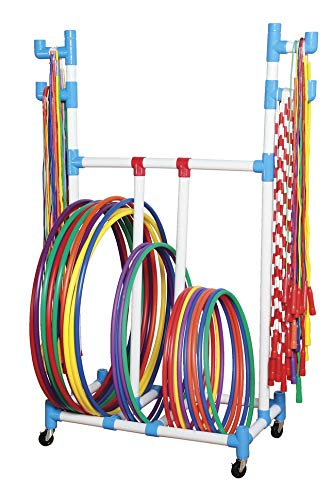 (FROM USA) Sportime Hoop-N-Rope Cart - 1449434