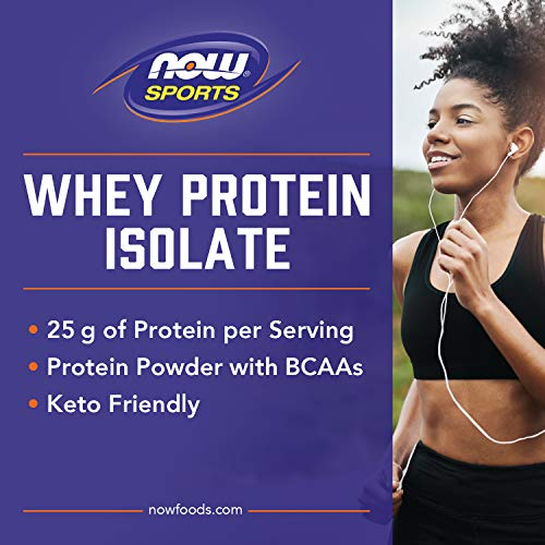 From USA NOW Sports Nutrition, Whey Protein Isolate, 25 G With BCAAs, Creamy C