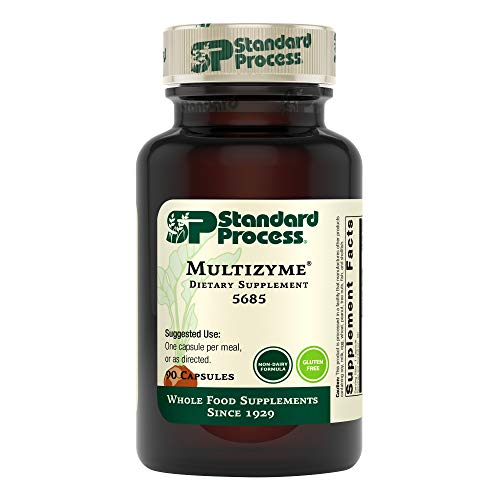 (FROM USA) Standard Process - Multizyme - 90 Capsules