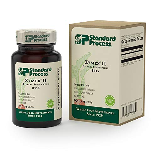 (FROM USA) Standard Process - Zymex II - 90 Capsules