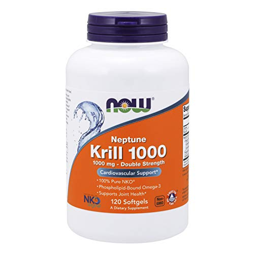 (FROM USA) NOW Supplements, Neptune Krill, Double Strength 1000 mg, Phospholip