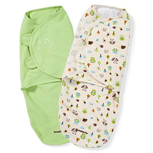[From USA]SwaddleMe Original Swaddle 2-PK Woodland Friends (LG) (Woodland Frie