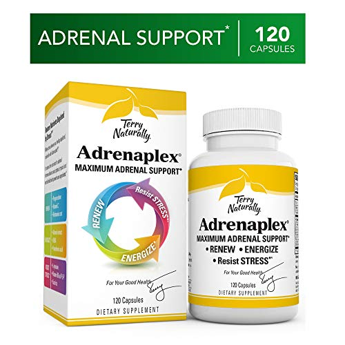 [From USA] Terry Naturally Adrenaplex - 120 Capsules - Maximum Adrenal Support