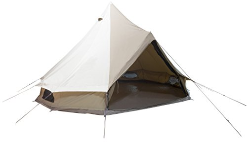 From USA TETON Sports Sierra Canvas Tent; Waterproof Bell Tent for Family Camp