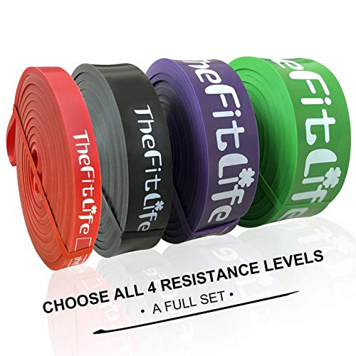 From USA TheFitLife Resistance Pull Up Bands - Pull-Up Assist Exercise Bands,