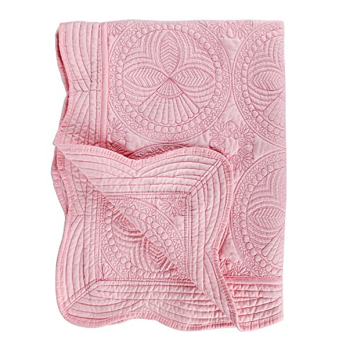 [From USA]Toddlers and Baby Quilt Lightweight Blanket Embossed Cotton Quilt 4