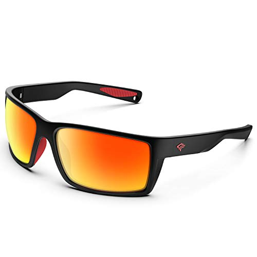 From USA TOREGE Sports Polarized Sunglasses for Men Women Flexible Frame Cycli