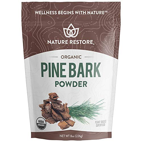 (FROM USA) USDA Certified Organic Pine Bark Extract Powder, 8 ounces/226 Grams