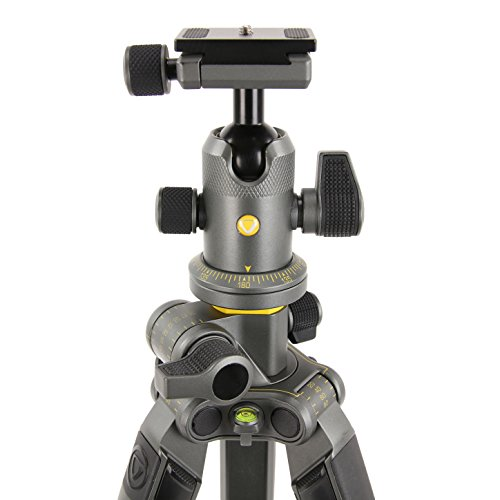 From USA Vanguard Alta Pro 2+ 263CB 100 Carbon Fiber Tripod with Alta BH-100 B