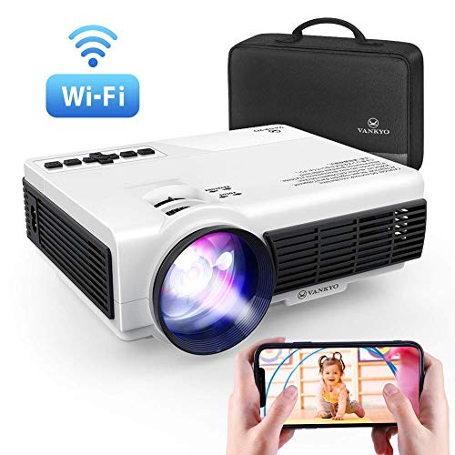 From USA VANKYO Leisure 3W Mini Projector with Synchronize Smartphone Screen,