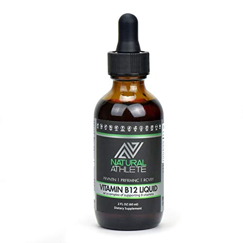(FROM USA) Vegan Vitamin B12 Sublingual Liquid Drops for Men  & Women | B Vita