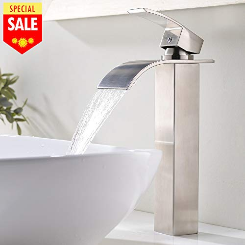 [From USA]VESLA HOME 1.77 Inches Body Wide Tall Waterfall Single Handle Brushe