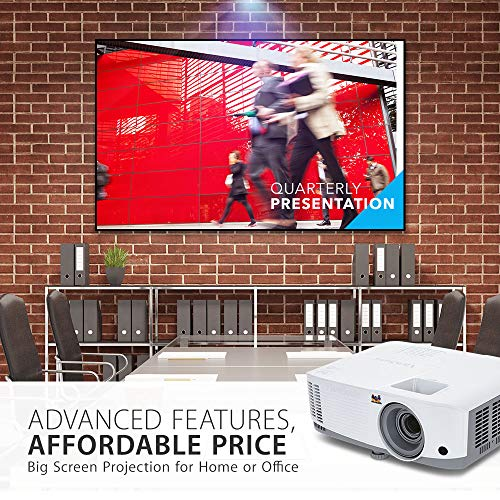 From USA ViewSonic 3600 Lumens SVGA High Brightness Projector for Home and Off