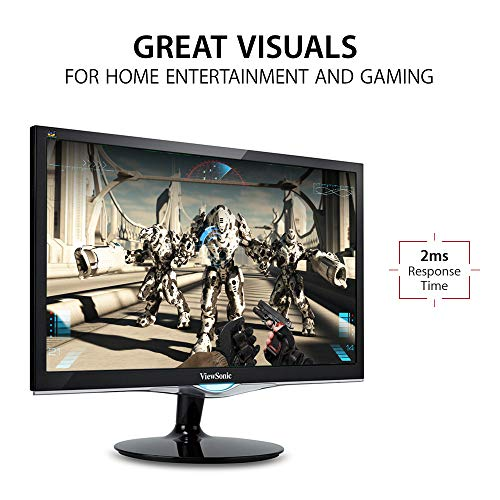From USA ViewSonic VX2452MH 24 Inch 2ms 60Hz 1080p Gaming Monitor with HDMI DV