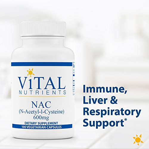 (FROM USA) Vital Nutrients - NAC (N-Acetyl Cysteine) - Vegan Formula - Support