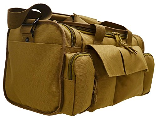 (FROM USA) Ways Up R21 Gun Range Bag, Tactical Shooting Range Bag for Pistols