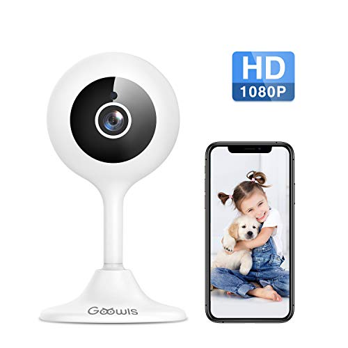 From USA WiFi Camera Indoor, Goowls 1080p HD Home Security Camera 2.4GHz Wired