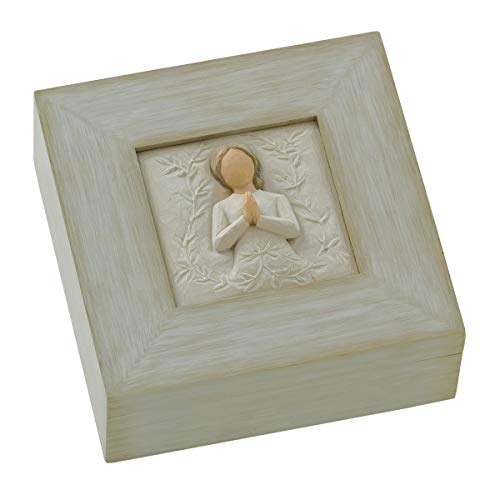 (FROM USA) Willow Tree a tree, a prayer, sculpted hand-painted memory box