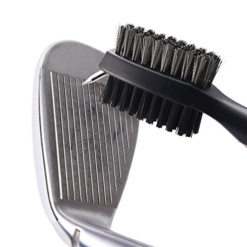 From USA Xintan Tiger Pack of 2 Golf Club Brush Groove Cleaner with Retractabl