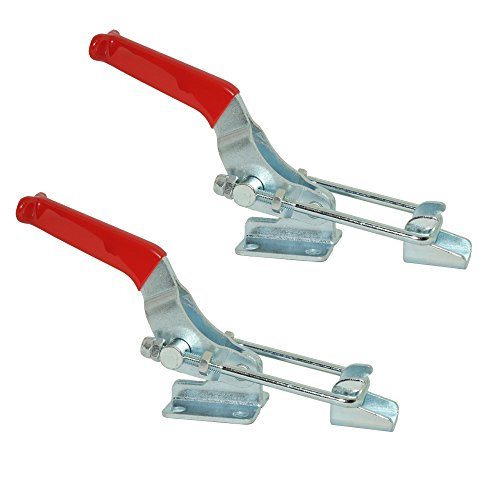 [From USA]XRPAOWA 2pcs Latch-Action Toggle Clamp 431 Hand Tool 701 lbs Capacit