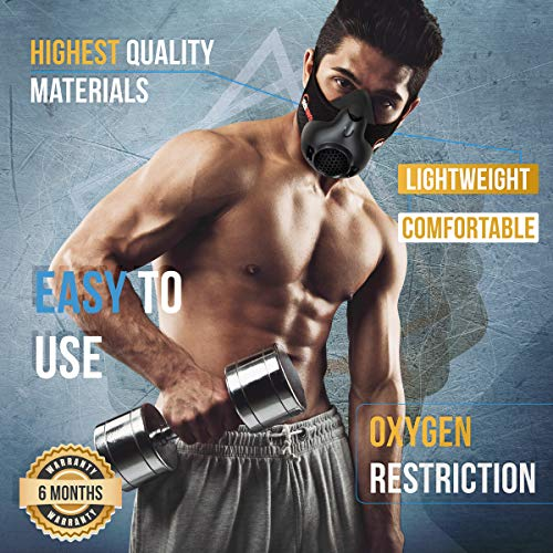 From USA Yafeh Sports Workout Mask - High Altitude Simulation For Breathing Re