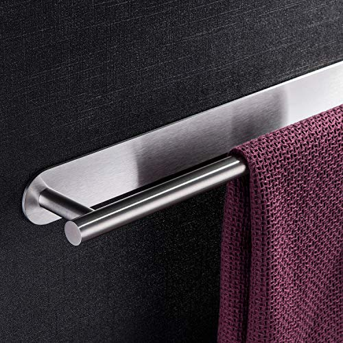 [From USA]YIGII Towel Bar Self Adhesive - 3M Bathroom Stick Towel Rack/Holder