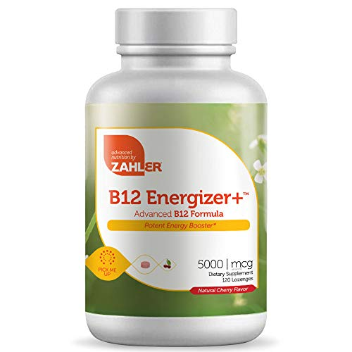 (FROM USA) Zahler B12 Energizer, Potent Energy Booster, Vitamin B12 Methylcoba