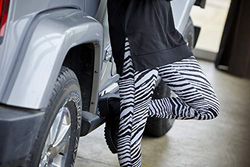 (FROM USA) Zubaz Women's Standard Zebra Leggings