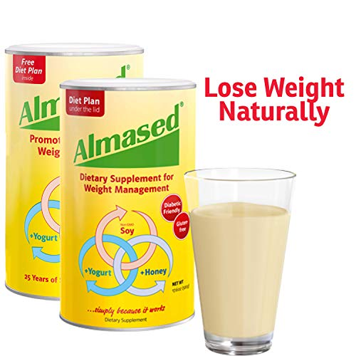 [USAmall] Almased Meal Replacement Shake - Plant Based Protein Powder - Shake