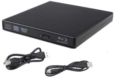 [USAmall] External blu-ray DVD Drive USB 2.0 Portable BD CD Player BD-ROM DVD/