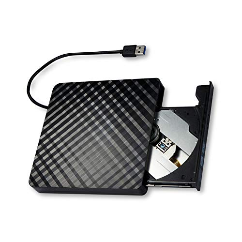 [USAmall] External CD Drive for Laptop, Universal Portable USB 3.0 High Speed
