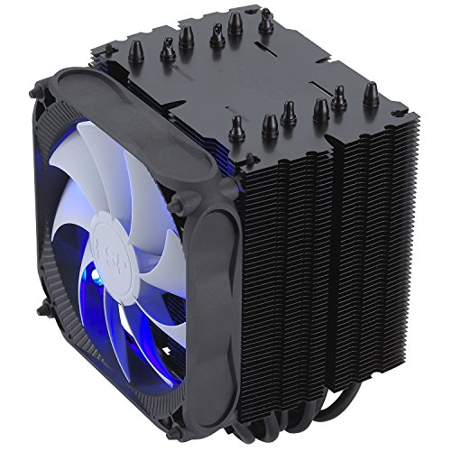 [USAmall] FSP Windale 6 CPU Cooler 6 Direct Contact Heatpipes 6mm Black Alumin