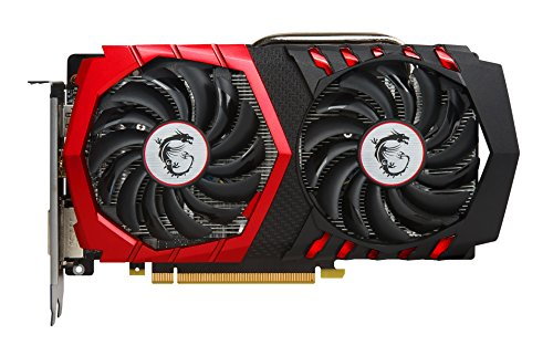[USAmall] MSI Computer Video Graphic Cards GeForce GTX 1050 TI GAMING X 4G, 4G