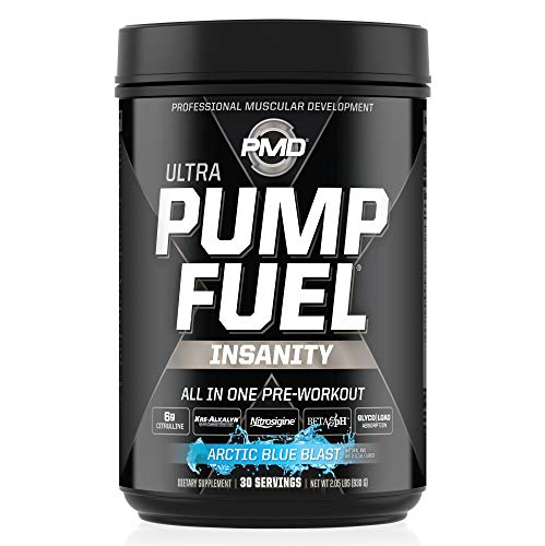 [USAmall] PMD Sports Ultra Pump Fuel Insanity - Pre Workout Drink Mix for Ener