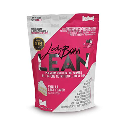 [USAmall] Premium Protein Powder  & Meal Replacement Shakes for Women - LadyBo