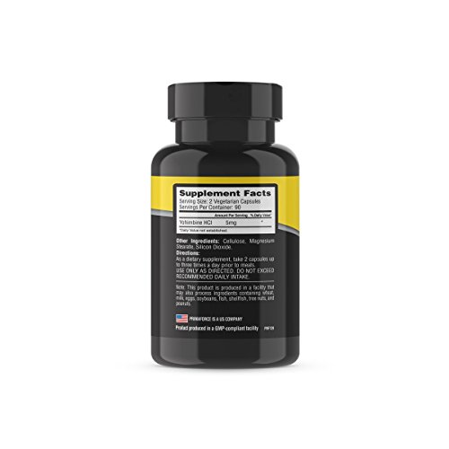 [USAmall] PrimaForce Yohimbine Supplement, 270 Count (Pack of 3)