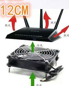 USB 1200RPM 8CM 12CM 14CM Cooling Fan For LCD TV Android Box Router
