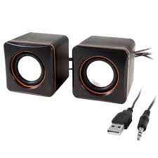 USB 2.0 D-02L PC/Notebook 2 Pcs Multi-Media Speaker