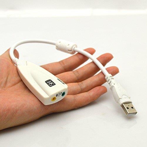 USB 20 Virtual 71 Channel 3D 5HV2 Audio External Sound Card Pc Ps4