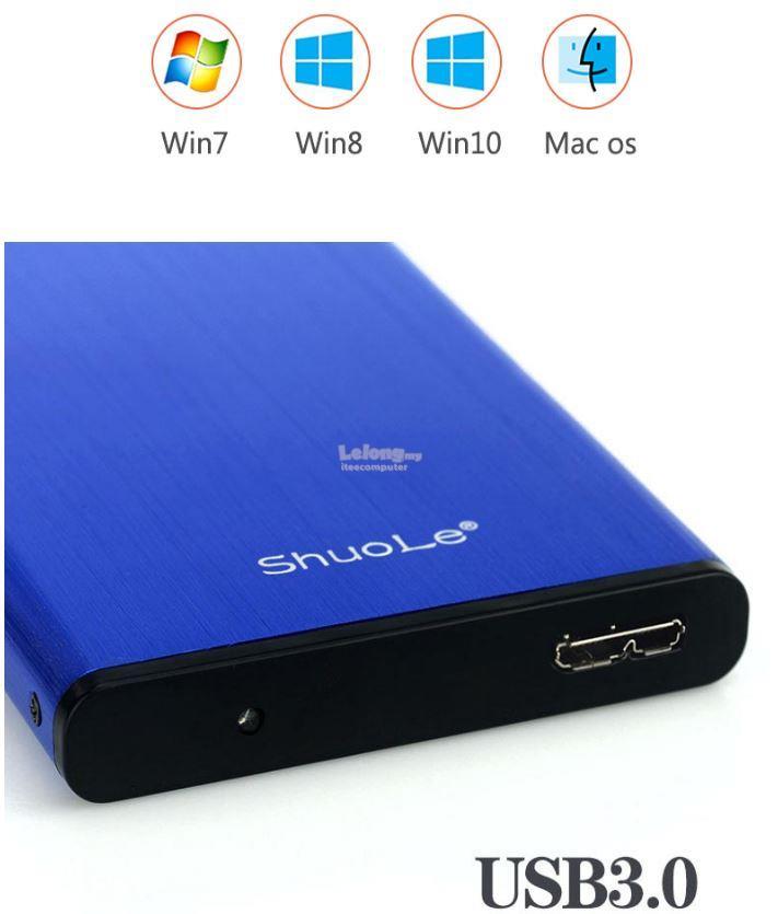 USB 30 External HDD Case 25 Hard Disk Enclosure Free Shipping