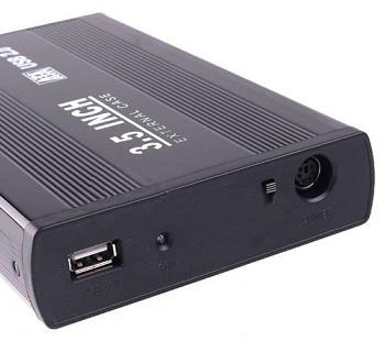 USB 3.5 Inch SATA External Case Harddisk Enclosure Box
