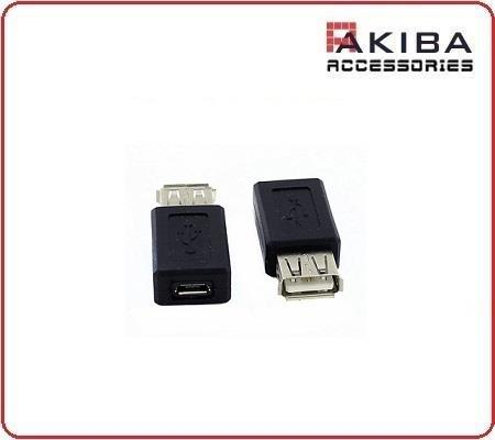 USB Adapter Type A Female / Micro B Female