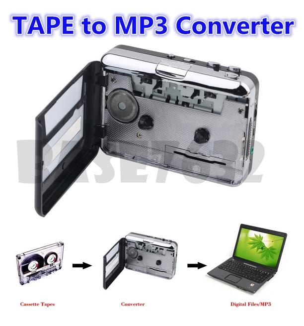 USB Cassette Tape  to MP3 Converter Music  CD Player