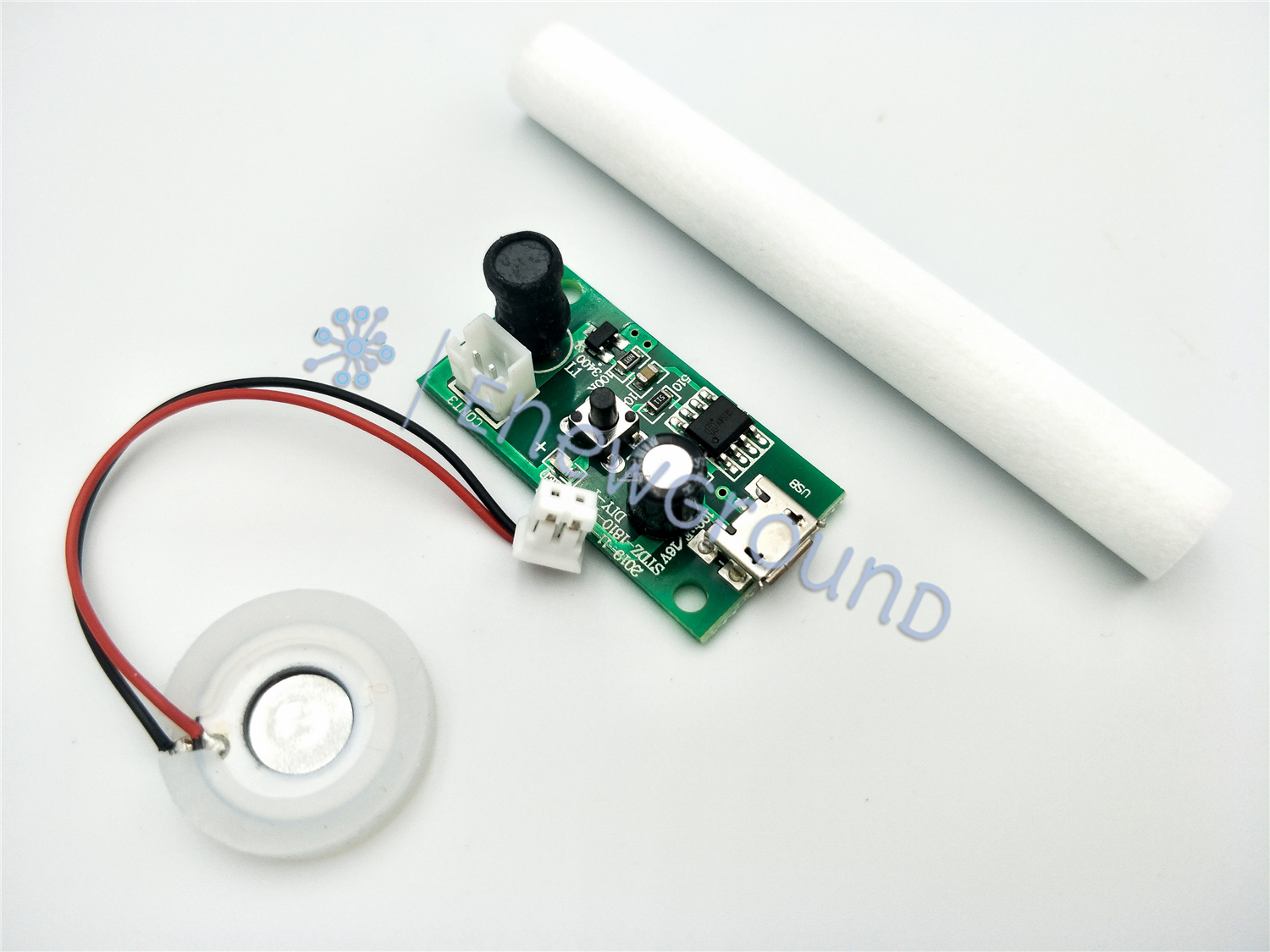 USB DIY air humidifier module with oscillator (Free wool stick)