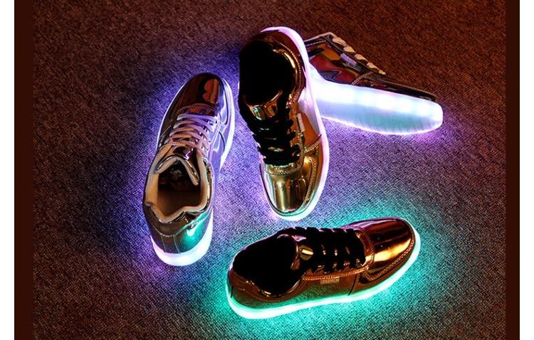promo code 8cc7f ce7b6 USB Led YEEZY BOOST Shoes Men Women Multi Color Shoes FREE SHIPPING