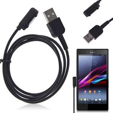 USB Magnetic Charge Cable for Sony Xperia Z1 Z2 Z3 XL39H