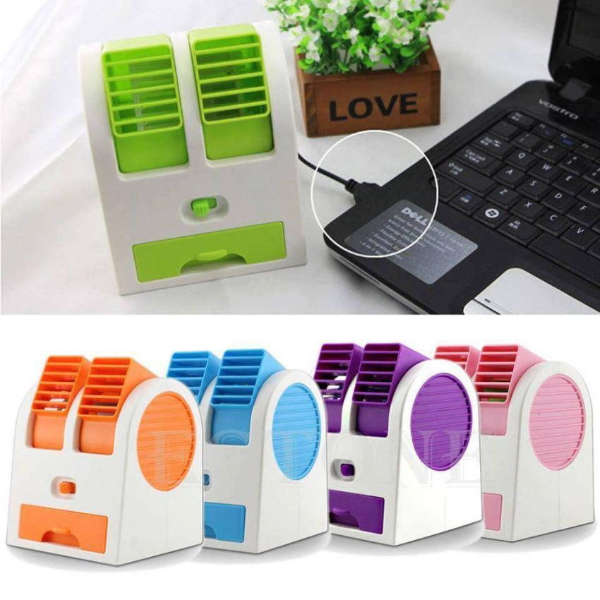 Usb Portable Mini Perfume Turbine Desk Fan Air Conditioner Cooling